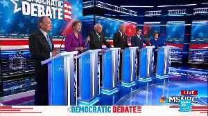 Democratic Debate: contenders round on billionaire Michael Bloomberg [Video]