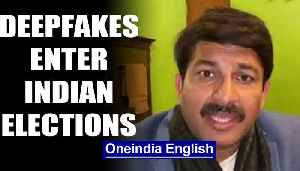 Deepfakes enter Indian election with Manoj Tiwari's Haryanvi video | OneIndia News [Video]