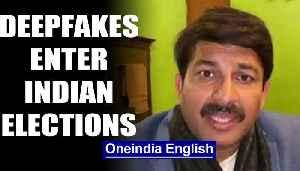 Deepfakes enter Indian election with Manoj Tiwari's Haryanvi video   OneIndia News [Video]