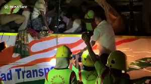 Several injured and 20 killed after bus collides with truck in south India [Video]