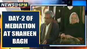 News video: Shaheen Bagh: 2nd day of mediation by SC appointed mediators Sanjay Hegde and Sadhna Ramachandran