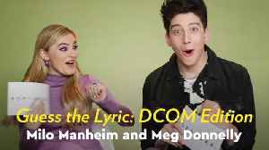 Zombies 2: Meg Donnelly and Milo Manheim Sing Their Hearts Out as They Guess DCOM Lyrics [Video]