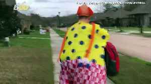 Oh, Brother! Big Bro Wears Funny Costumes to Embarrass Young Brother Getting Off the School Bus [Video]