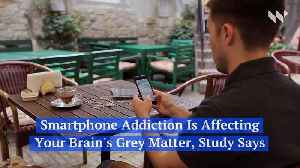 Smartphone Addiction Is Affecting Your Brain's Grey Matter, Study Says [Video]