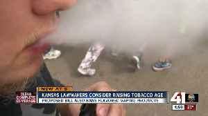 Kansas lawmakers to consider raising tobacco, vaping age limit [Video]