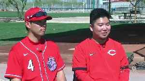 'Everyone knows him in Japan:' Akiyama makes his Goodyear debut [Video]