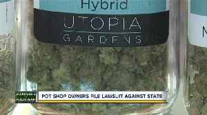Pot shop owners file lawsuit against the state of Michigan [Video]