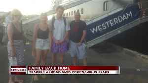 Family back home in Michigan after trapped abroad amid coronavirus fears [Video]