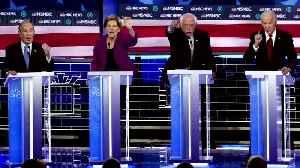 Warren takes aim at Bloomberg during Dems debate [Video]