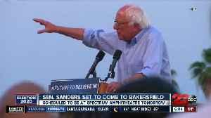 Senator Bernie Sanders to come to Bakersfield [Video]