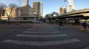 Walking through Beijing's near empty streets [Video]