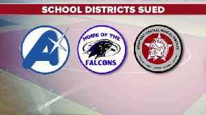 High school wrestler sues three school districts [Video]