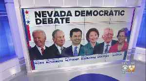 News video: Political Fireworks Expected During Nevada Democratic Debate