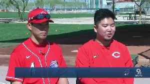 Getting to know Reds' Shogo Akiyama [Video]