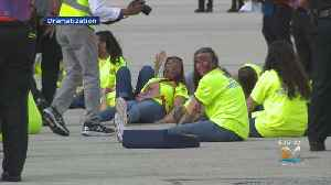 Miami-Dade Fire Rescue Holds Disaster Drill At MIA [Video]