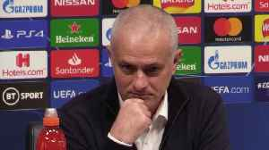 Mourinho praises his side despite 1-0 loss to Leipzig [Video]