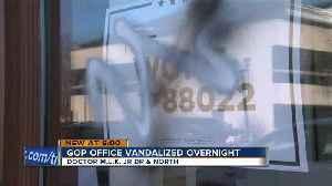 New Milwaukee GOP office vandalized with graffiti [Video]