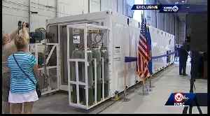 KC research firm creates biohazard container for jets [Video]