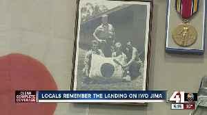 Locals remember the landing on Iwo Jima [Video]