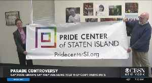 Staten Island LGBTQ Groups Say They Weren't Allowed To Sign Up For St. Patrick's Day Parade [Video]