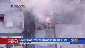 Crews Battle Two-Story Structure Fire In Chinatown [Video]