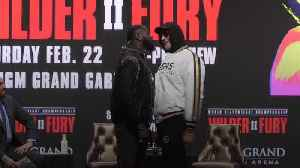 Fury and Wilder get physical at final pre-fight press conference [Video]