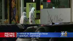 8 Killed In Shootings Near Frankfurt, Germany [Video]