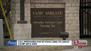 Those quarantined at Camp Ashland to fly home Thursday [Video]