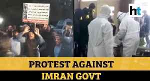 Coronavirus: Kin of Pakistani students stranded in Wuhan protest against govt [Video]