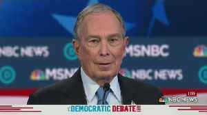 Bloomberg Battered In 1st Debate Appearance [Video]