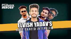 Elvish Yadav on his name, fame & dad's insistence on govt jobs l Cyber Heroes [Video]