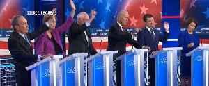 Democratic presidential candidates trade jabs during fiery 2-hour Las Vegas debate [Video]