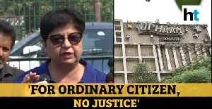 Justice only for rich, powerful: Uphaar fire victims' kin on SC rejecting plea [Video]