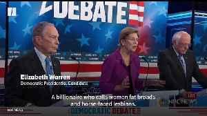 Elizabeth Warren Hits Michael Bloomberg Hard In Democratic Debate [Video]