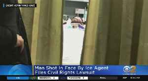 Man Shot By ICE Files Lawsuit [Video]