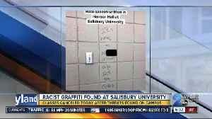 Racist threats found on Salisbury University's campus [Video]