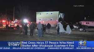 Red Cross Helps 37 People Who Need Shelter After Waukegan Apartment Fire [Video]
