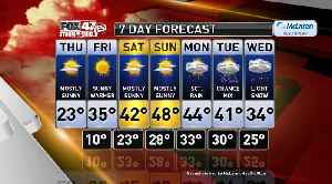 Claire's Forecast 2-20 [Video]
