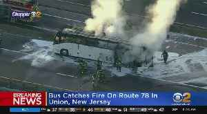Bus Fire On Route 78 [Video]
