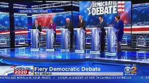 Democratic Debate Takes On Look Of Fight Night In Las Vegas [Video]