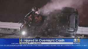 DEADLY COMMUTE: Early morning crashes on Bay Area freeways claim one life and injure at least 6 [Video]