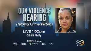 Philadelphia Police Commissioner Danielle Outlaw To Speak At Gun Violence Prevention Hearing At City Hall [Video]