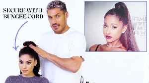 Chris Appleton's Ponytail Masterclass: Ariana Grandé, Kim Kardashian, and Jennifer Lopez [Video]