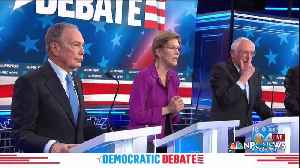 Presidential Debate Focuses On Mike Bloomberg [Video]