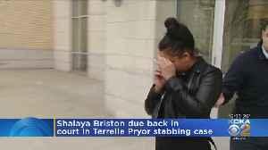 Woman Accused In Terrelle Pryor Stabbing In Court [Video]