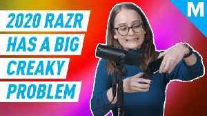 The new Razr has a horrifying creak [Video]