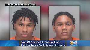 Like A Trail Of Bread Crumbs, Empty Pill Bottles Lead Florida Police To Robbery Suspects After Opioid Heist [Video]