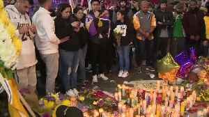 Remembering Kobe Bryant: Makeshift Memorials [Video]