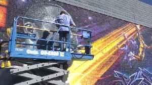 Remembering Kobe Bryant: Street Art [Video]