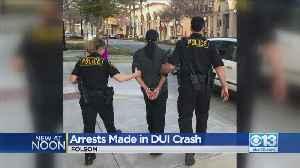 Arrests Made In Fiery DUI Crash In Folsom [Video]